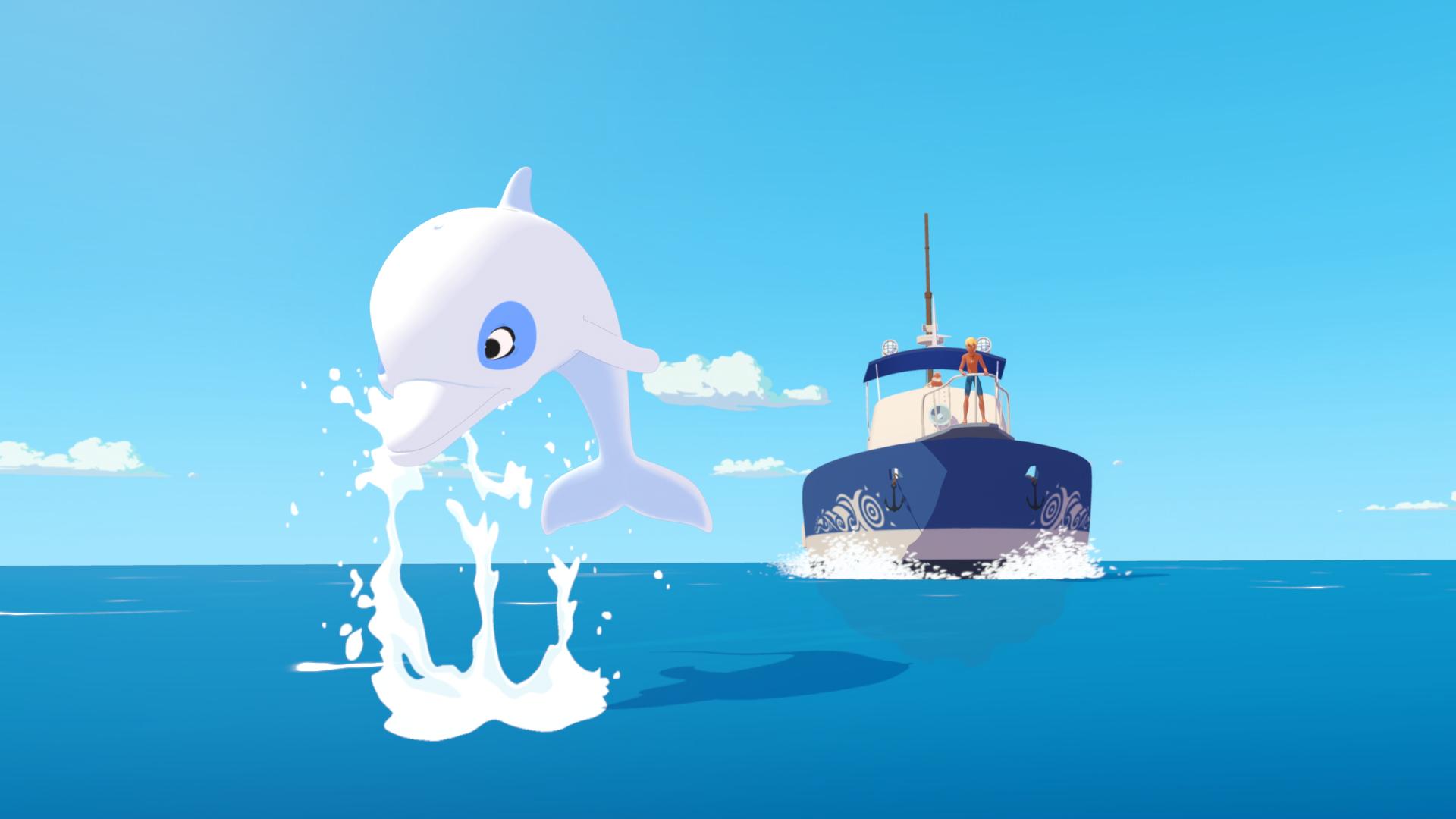 Oum le dauphin blanc TF1