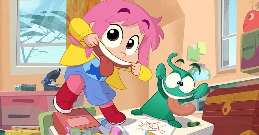 Ernest & Rebecca gets animated