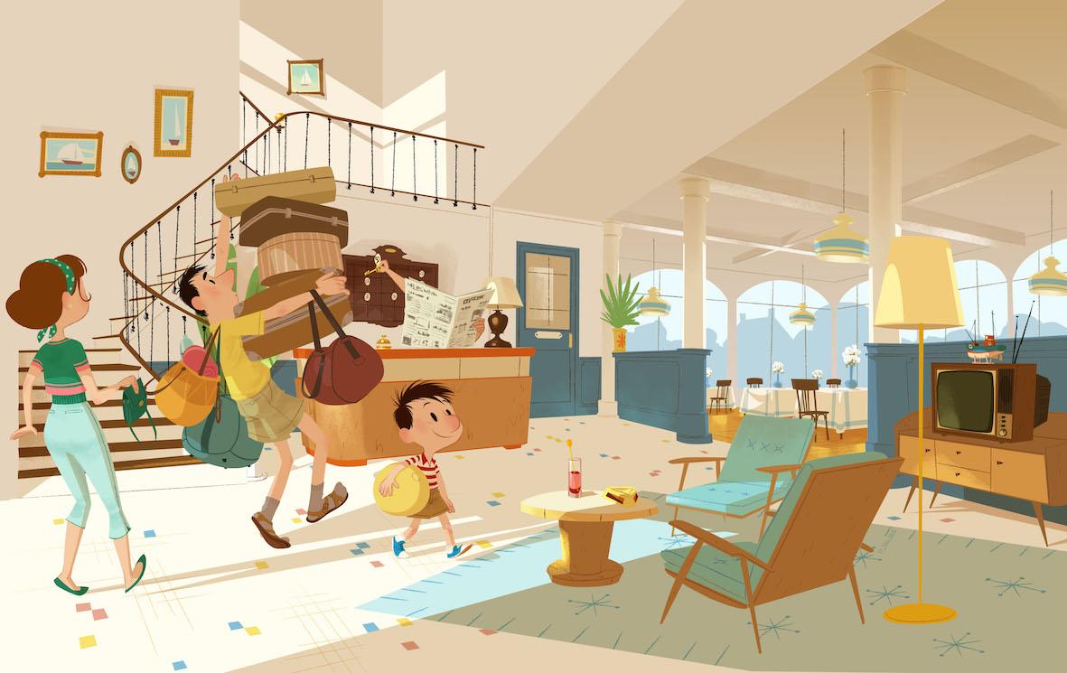 Le petit Nicolas - Tous en vacances!