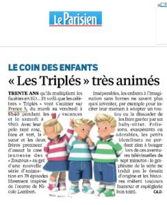 Triplés Le Parisien